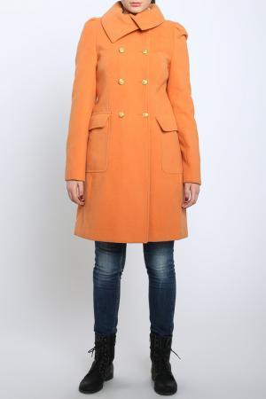Пальто Bellissima. Цвет: оранжевый