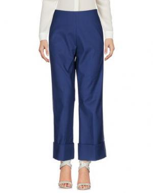 Повседневные брюки AQUILANO-RIMONDI. Цвет: синий