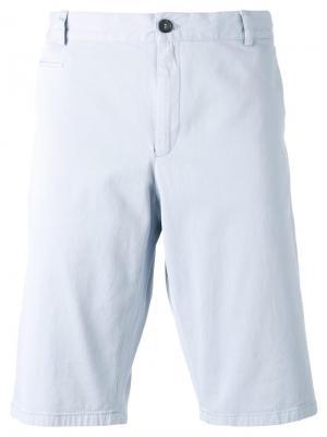 Классические шорты чинос Paul & Joe. Цвет: синий
