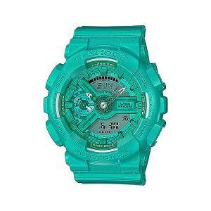Электронные часы Casio G-shock Gma-s110vc-3a. Цвет: голубой,зеленый