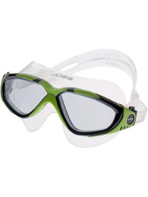 Очки для плавания JOSS. Цвет: салатовый