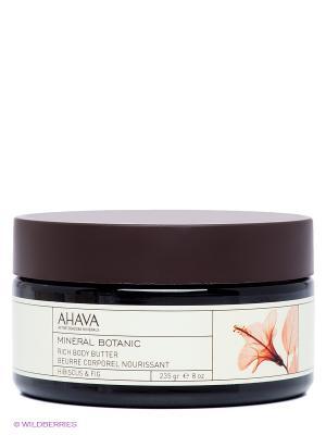 Крем-масло для тела питательное AHAVA. Цвет: прозрачный
