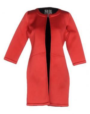 Легкое пальто ES'GIVIEN. Цвет: красный