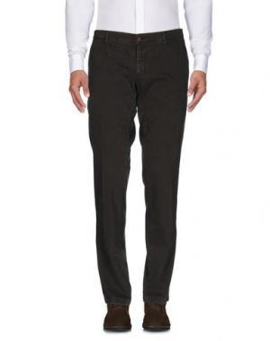 Повседневные брюки J.W. TABACCHI. Цвет: зеленый-милитари
