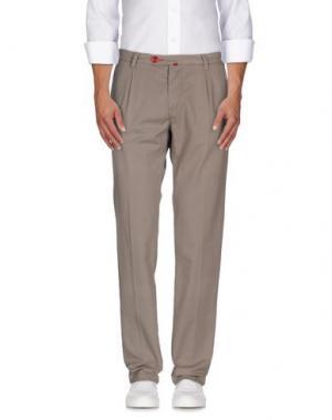 Повседневные брюки BARONIO. Цвет: голубиный серый