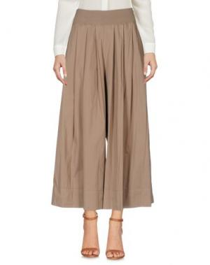 Повседневные брюки EUROPEAN CULTURE. Цвет: хаки