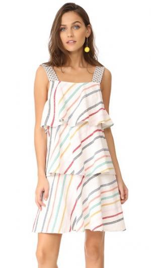 Платье Simone ace&jig. Цвет: веселый