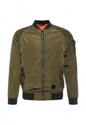 Куртка Aarhon. Цвет: хаки