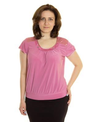 Блузка Vanrica Fashion. Цвет: сиреневый