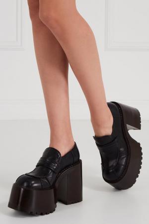 Черные ботинки на платформе Marc Jacobs. Цвет: черный