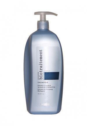 Шампунь для вьющихся волос Brelil Professional. Цвет: голубой