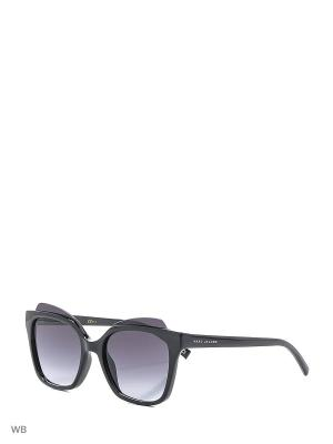 Солнцезащитные очки MARC JACOBS. Цвет: черный