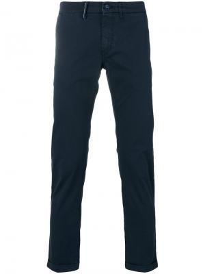 Укороченные брюки Mucha Re-Hash. Цвет: синий