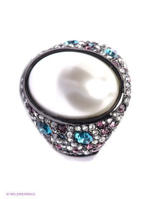 Кольцо Art Silver. Цвет: голубой, розовый