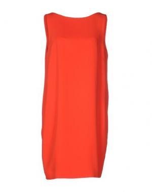 Короткое платье PIU' &. Цвет: оранжевый