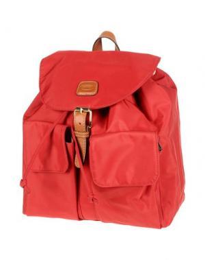 Рюкзаки и сумки на пояс BRIC'S. Цвет: красный