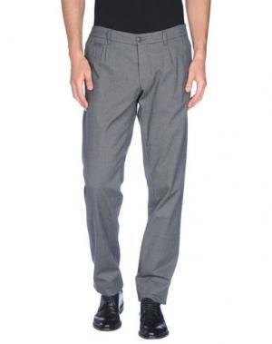 Повседневные брюки J.W. TABACCHI. Цвет: серый