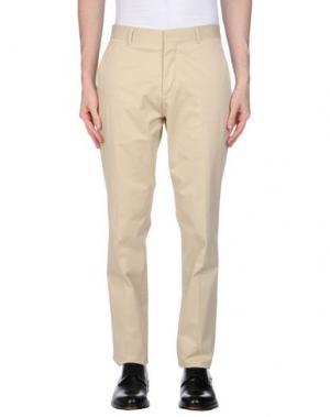Повседневные брюки CLUB MONACO. Цвет: бежевый