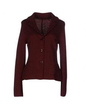 Пиджак SIYU. Цвет: красно-коричневый