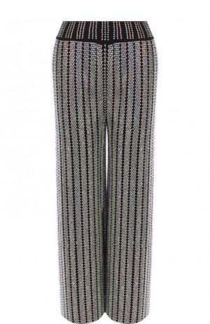 Укороченные брюки свободного кроя с пайетками Gucci. Цвет: черный