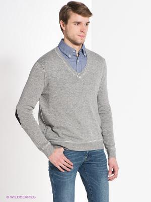 Пуловер Bogner Jeans. Цвет: серый меланж