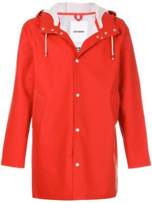 Пальто Stockholm Stutterheim. Цвет: красный