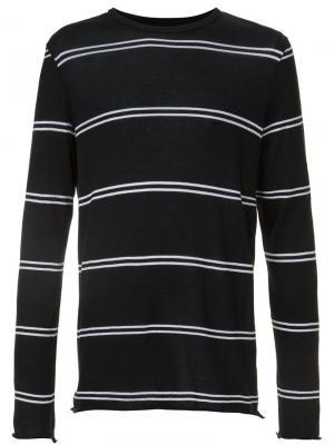 Double stripe longsleeved T-shirt Amiri. Цвет: чёрный