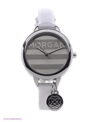 Часы Morgan. Цвет: белый