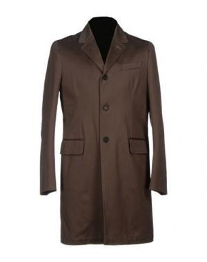 Легкое пальто MM BY MARIOMATTEO. Цвет: хаки