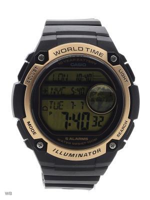 Часы Casio AE-3000W-9A. Цвет: золотистый