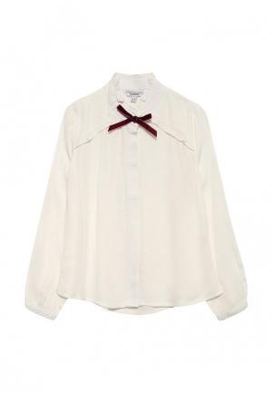 Блуза Piazza Italia. Цвет: белый