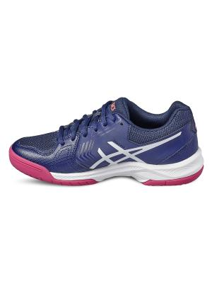 Спортивная обувь GEL-DEDICATE 5 ASICS. Цвет: синий, белый, розовый