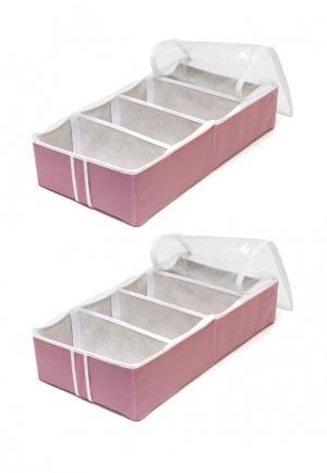 Система хранения для обуви 2 пр. Homsu. Цвет: розовый
