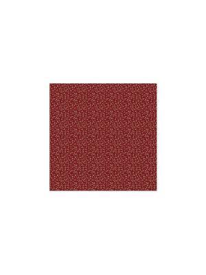 Шторка для душа 183x178 см Красная глина Blonder Home. Цвет: красный