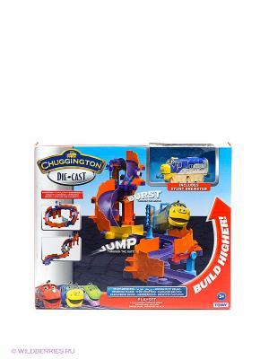 Игровой набор Храбрый Брюстер Chuggington. Цвет: фиолетовый, красный