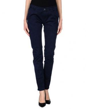 Повседневные брюки TED SCARF. Цвет: темно-синий
