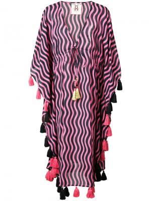 Платье-туника Amrita Figue. Цвет: розовый и фиолетовый