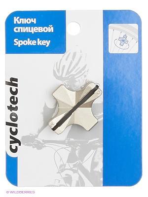 Ключ спицевой Cyclotech. Цвет: черный