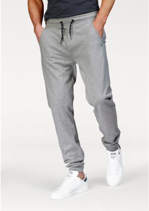 Спортивные брюки JOHN DEVIN. Цвет: черный/меланжевый