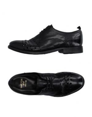 Обувь на шнурках SARTORI GOLD. Цвет: черный