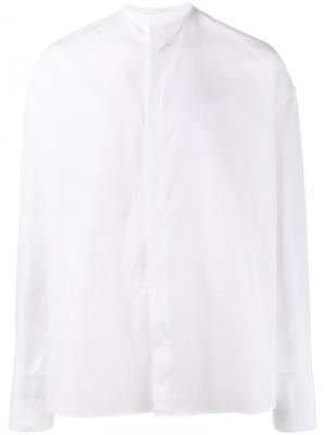 Спортивная куртка на молнии Haider Ackermann. Цвет: белый