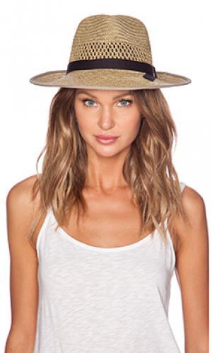 Шляпа федора gwen Brixton. Цвет: цвет загара