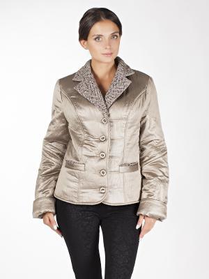 Куртки Sonett. Цвет: коричневый, золотистый