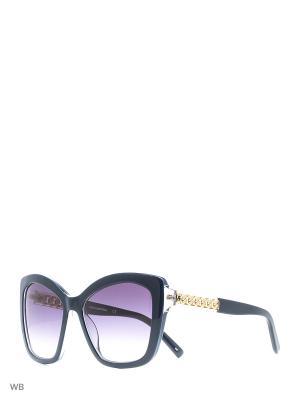 Очки солнцезащитные KL 927S 083 Karl Lagerfeld. Цвет: синий