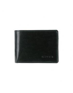 Бумажник GIUDI. Цвет: изумрудно-зеленый
