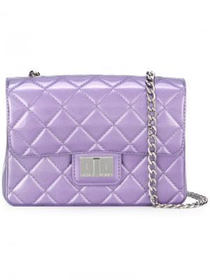 Стеганая сумка на плечо Milano Designinverso. Цвет: розовый и фиолетовый