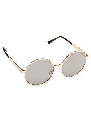 Солнцезащитные очки Aiyony Macie. Цвет: золотистый, темно-зеленый