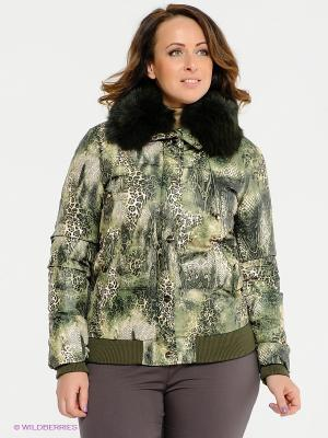 Куртка Acasta. Цвет: зеленый