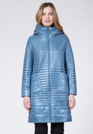 Куртка утепленная Winterra. Цвет: голубой