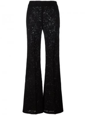 Расклешенные брюки Ermanno Scervino. Цвет: чёрный